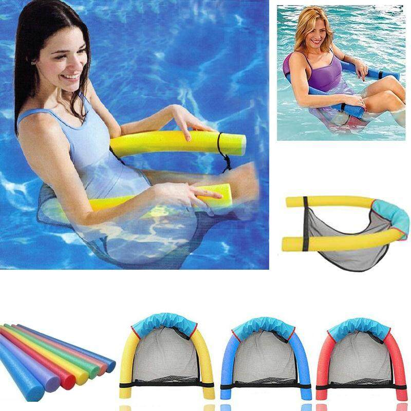 1pc Noodle Pool Floating Chair Swimming Pool Seats Blue Pool Amazing Floating Bed Chair