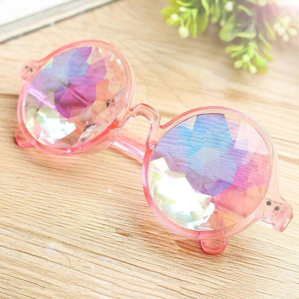 Kaleidoscope Glasses Ropa Party Rainbow Sunglasses Colorful Prism Rave