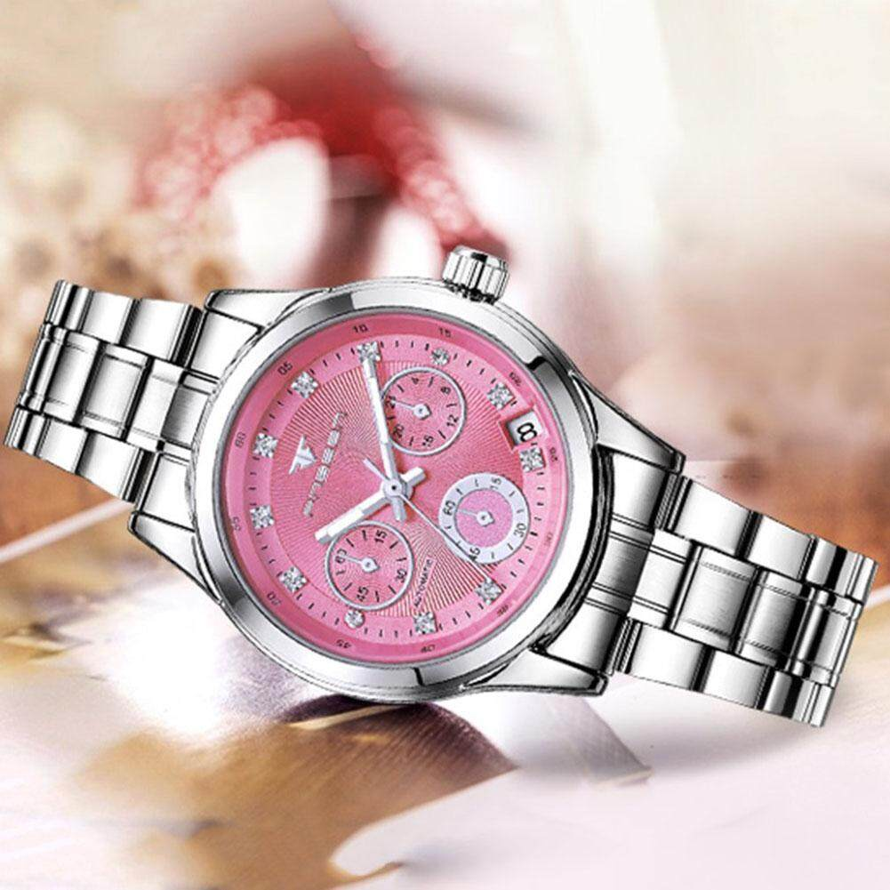 Fashion Women Watch Waterproof Full Automatic Mechanical Watch For Female