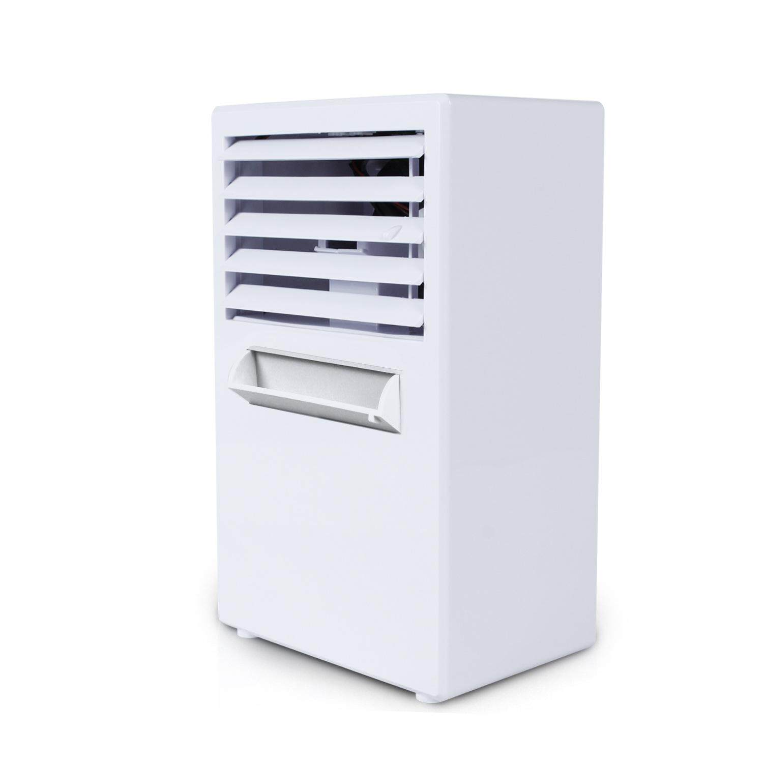 Creative Mini Mini Giant Humidifier Desktop Air Conditioning Fan New Cooling Small Leaf Free Fan