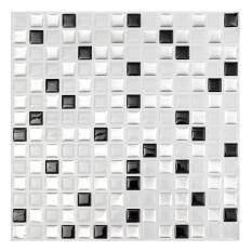 Trang Trí nhà Gạch Khảm Bếp Phòng Tắm Lá Làm Đẹp 3D Decal Dán Tường Gạch
