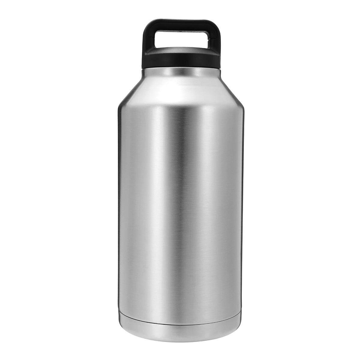 64oz Stainless Steel Vacuum Insulated Water Bottle Travel Thermos Cup #64oz