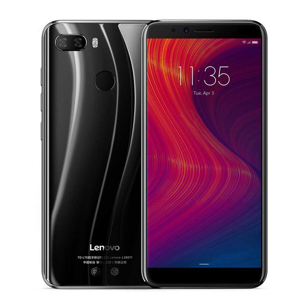 (Promotion)Lenovo K5 Play 4G Mobile Phone Face ID 5.7-inch HD+ 18:9 Display Snapdragon MSM8937 Octa-core 3GB+32GB