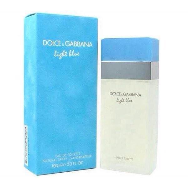 Light Blue by Dolce & Gabbana for Women Eau de Toilette 100ml perfume women