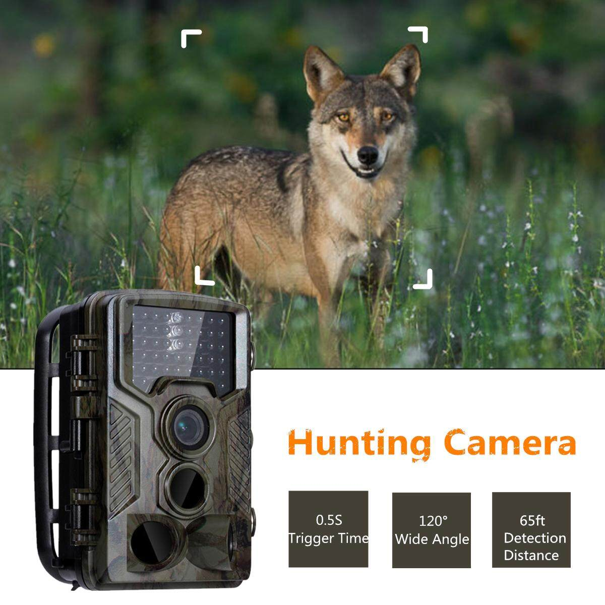 16MP HD Hunting Trail Camera PIR 42 LED Photo Video Waterproof Infrared Wildlife
