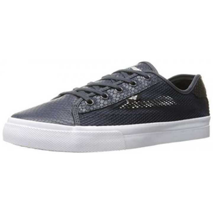 Creative Recreation Mens Sneaker, Kaplan Fashion Sneaker, Mens Navy Black Snake Mesh, US 21bb7a
