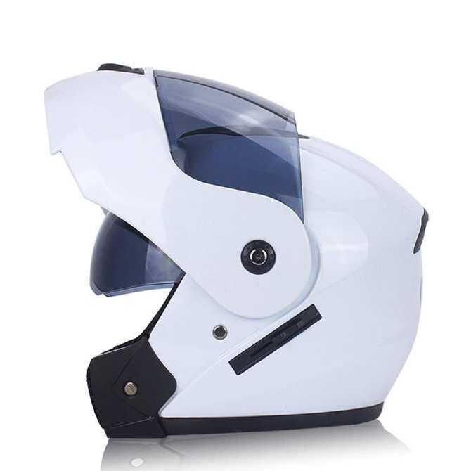 Mũ Bảo Hiểm xe máy Ống Kính Kép Mở Mặt Mũ Bảo Hiểm Mũ Bảo Hiểm Full Face Mùa Hè Đua Chạy Mũ Bảo Hiểm Nam Nữ Mùa Đông Mũ Bảo Hiểm Kép -Sử dụng Mũ Bảo Hiểm