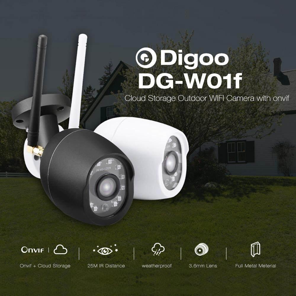 Digoo DG-W01f 720 จุด Cloud Storage กันน้ำกลางแจ้ง WiFi กล้องวงจรปิด