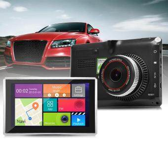 508 5 INCH ANDROID 4.4 CAR TABLET GPS 170 DEGREE WIDE ANGLE (BLACK), EUROPEAN MAPS