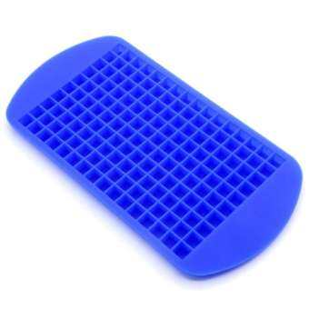 160 Pcs Small Ice Cubes maker Frozen Cube Bar Pudding Silicone Tray Mould Diy Tool-