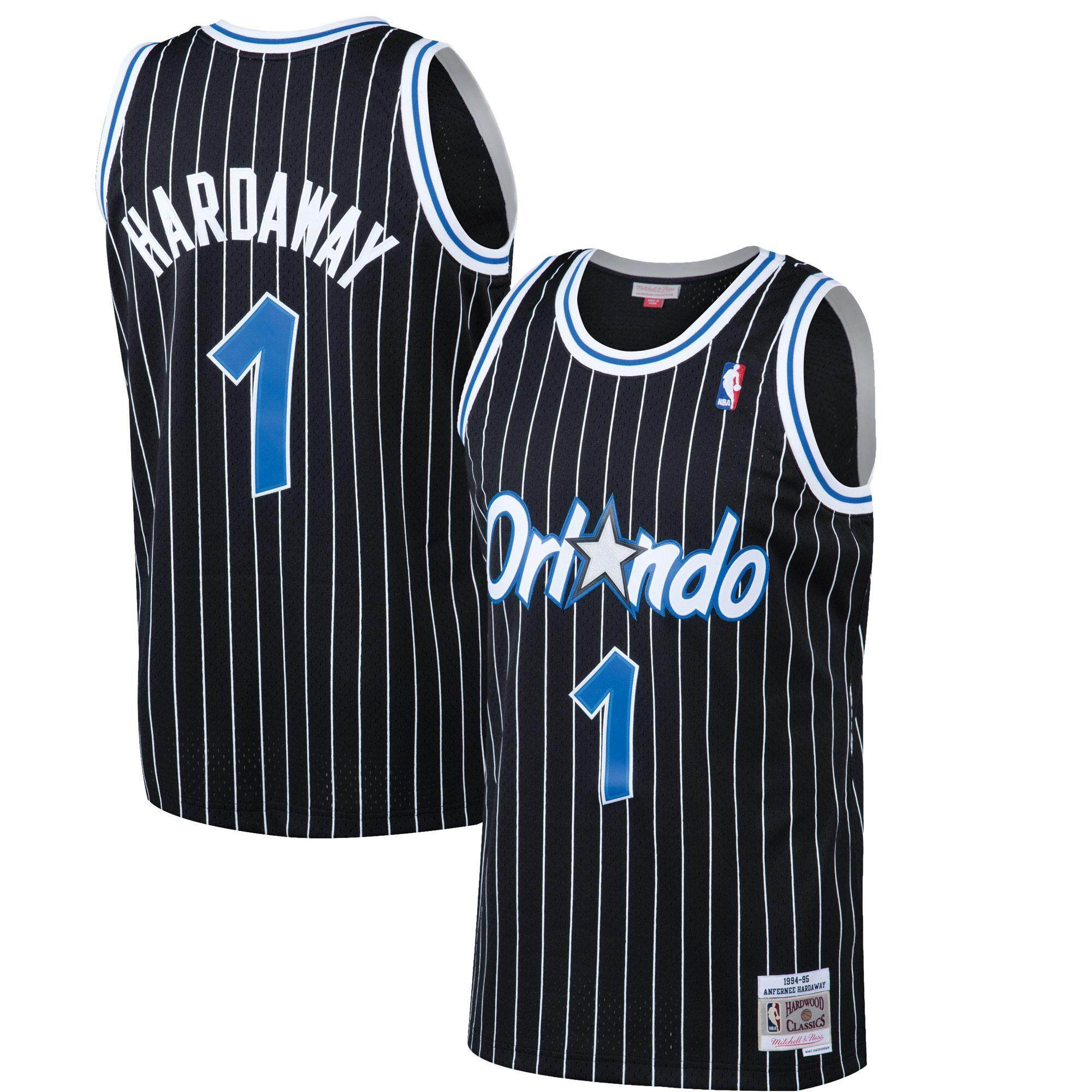 0a3a669d4a7 Basketball Clothes Swingman Jersey NBA Orlando Magic Hardwood Classics  Penny Hardaway 1994-95 Men s