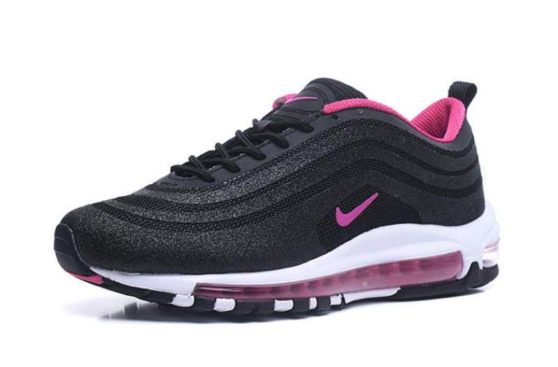 ยี่ห้อนี้ดีไหม  กำแพงเพชร Nike_Official Air_Max_97 Low Top Women Global Sales Running Shoe ( Pink White )
