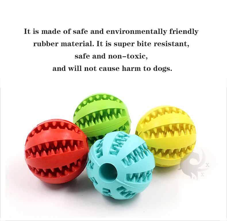 1pcs Pet dog toy, watermelon leaking food ball, dog food rubber leaking  device, clean tooth ball, high quality rubber production (large size 7cm,