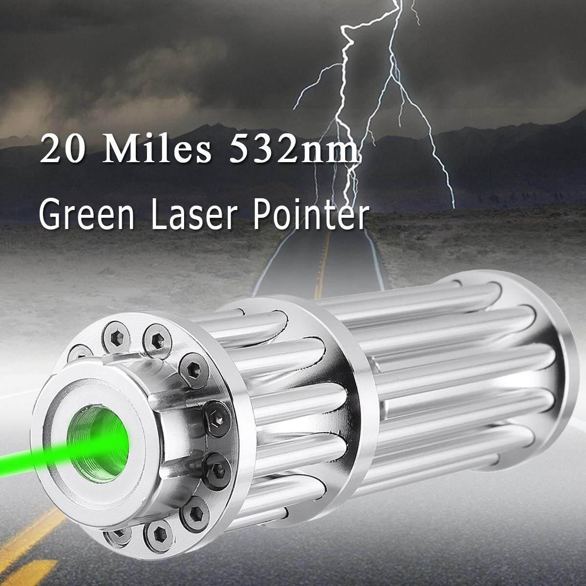 20 Miles 532nm Green Laser Pointer Point Pen Lazer Beam Light 0.5mW