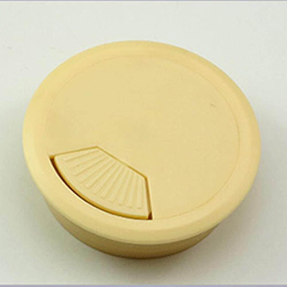 1 Máy tính Để Bàn Văn Phòng Máy Tính Bàn Cáp Lỗ Dây Ngăn Nắp 80mm Nhựa Grommet Bao