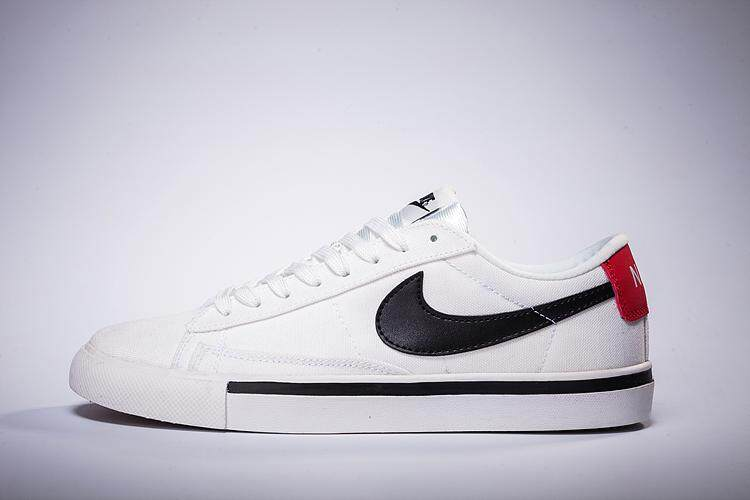 huge discount e12a5 fa4fa Product details of Nike Blazer Low 18 Men s Classic Running Shoe  Lightweight Sneakers (White Black)
