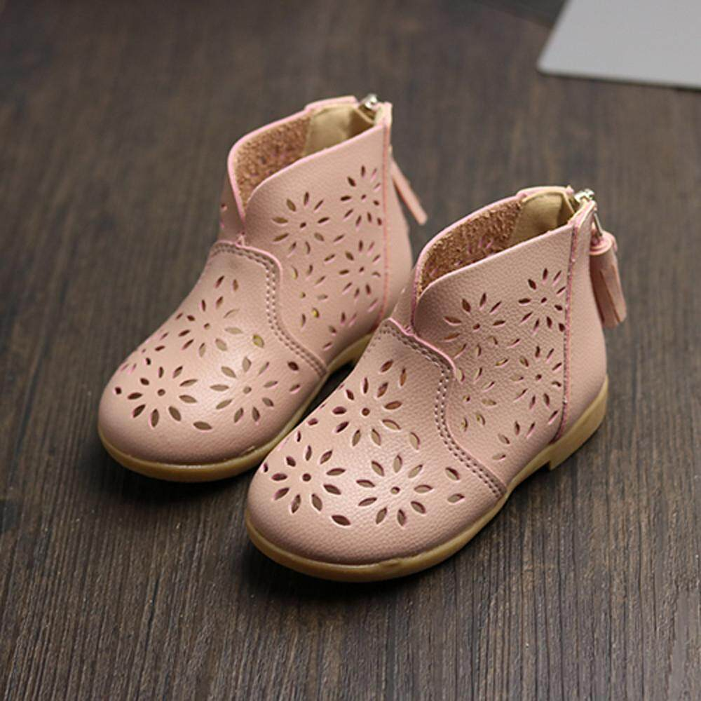 Toddler Baby Girl Summer Breathable Shoes Kids Children Princess Boot Shoes