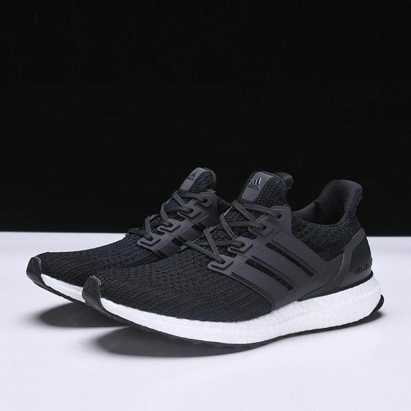 the latest 6c84c e5c7e Adidas UB Ultra Boost 4.0 Mens Running Shoe Fashion Casual Sneakers (White Black)