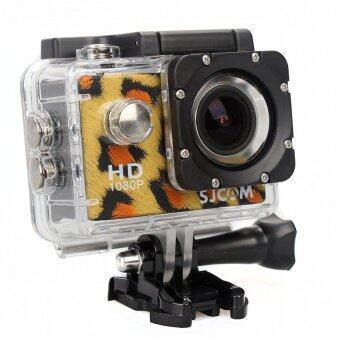SJCAM SJ4000 sport camera Leopard Grain Full HD 1080P Action DV