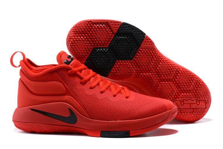 การใช้งาน  นครพนม Nike LEBRON ZOOM Witness II คลาสสิกบาสเกตบอลมืออาชีพรองเท้าแฟชั่นรองเท้ากีฬา (สีแดง)