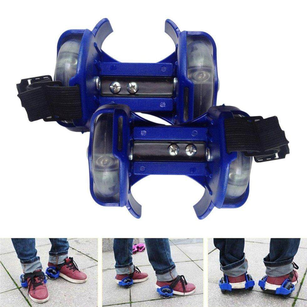 3 Color Light Small Whirlwind Pulley Roller Blue Flash Wheel Shoes Skating
