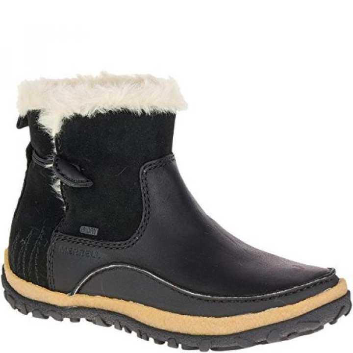 Merrell Womens Tremblant 9.5 Pull on Polar Waterproof Snow Boot, Black, 9.5 Tremblant M US 456353