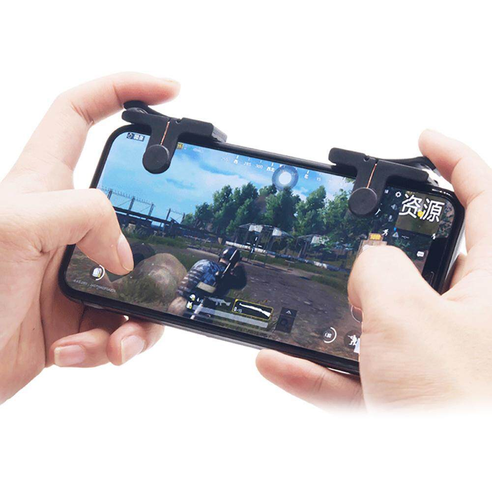 OrzBuy PUBG Mobile Game Controller Of C9 Sharpshooter Gaming Trigger Fire Button Aim Key Phone Shooter Controller PUBG Games  For Android IOS