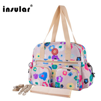 Upgrade Multifunction Baby Diaper Bags Newest Printed Nappy Bags Fashion Maternity Stroller Mummy Tote Waterproof anti-theft