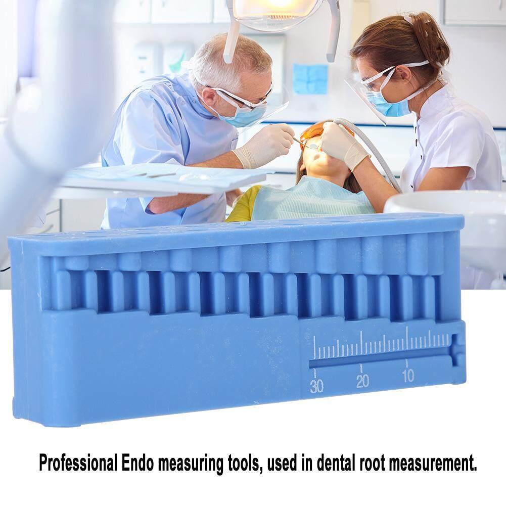 Nha khoa Khối Các Tập Tin Dụng Cụ Đo Endodontic Thước Thử Nghiệm Ban