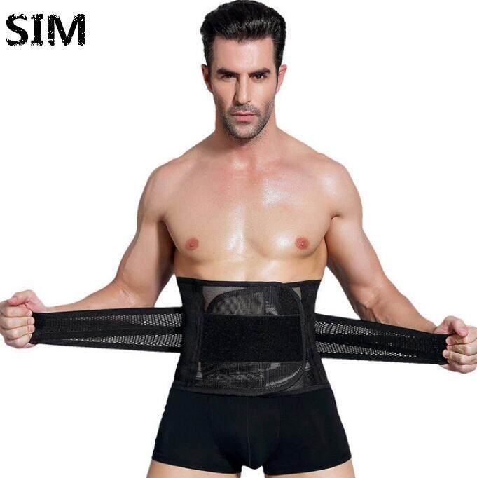 Sim Men Corset Shapewear Fat Slim Belt Tummy Cincher Corset Body Shapers By Maybebest.
