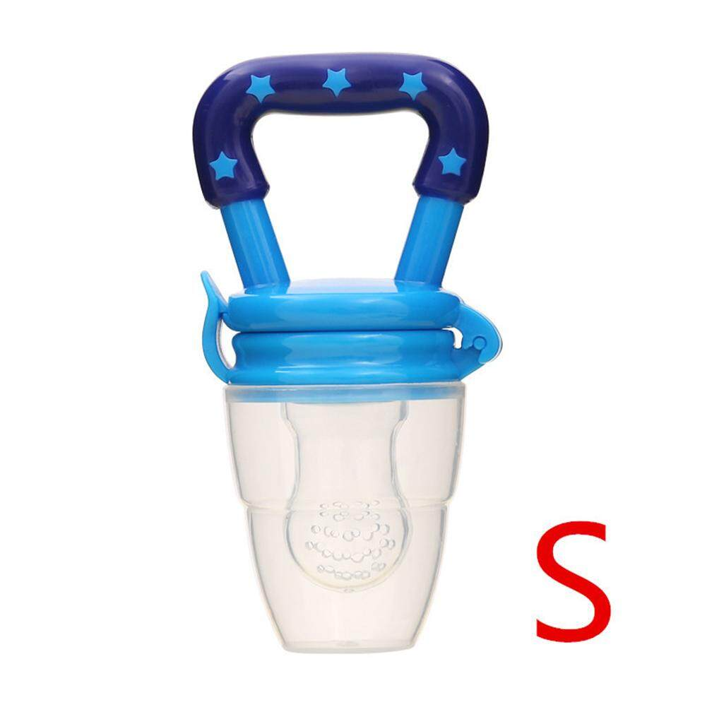 ER 1Pcs Portable Baby Silcone Pacifier Fresh Food Milk Nibbler Feeder Baby Care Auxiliary Pacifier Tool