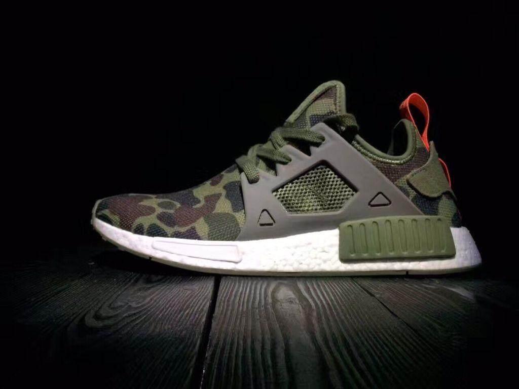 d6e7488e7 Adidas Men s NMD XR1 PK PrimeKnit Running Shoe Fashion Sneakers  (Green Camouflage)