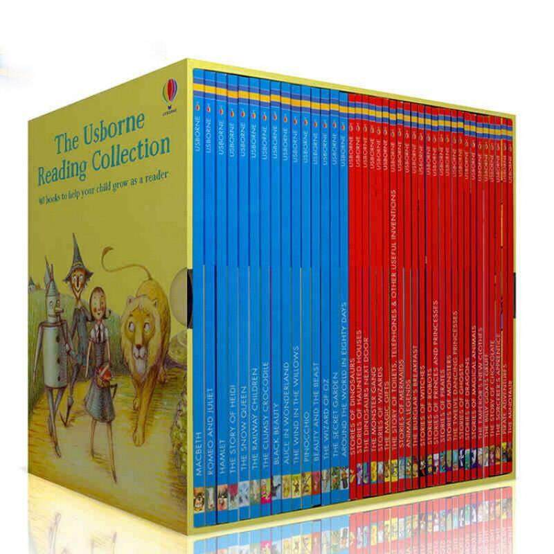 The Usborne Reading Collection 40 Books My Third Reading Library Box set