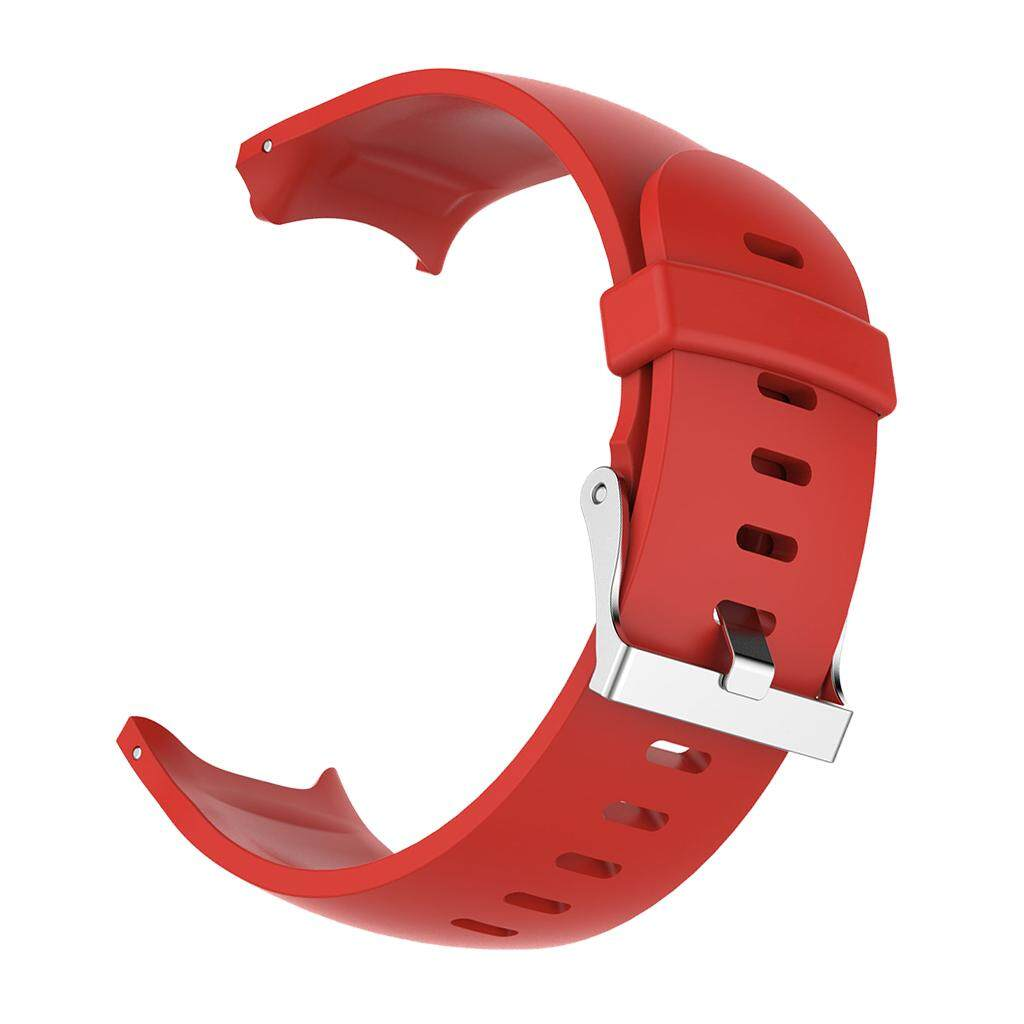 Miracle Shining Silicone Wrist Band Watch Strap Holder Buckle For Garmin Approach S3 Watch