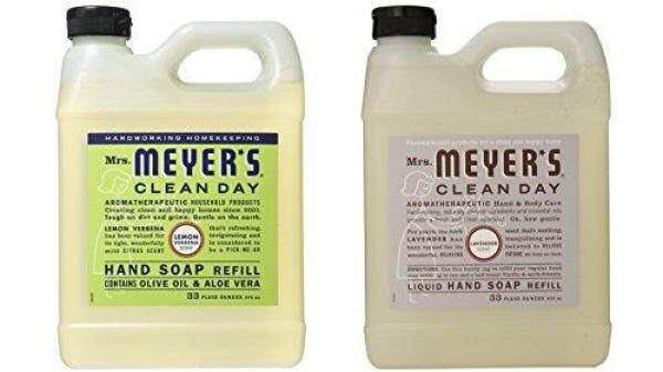 Buy Mrs. Meyers Liquid Hand Soap Lavender & Lemon Verbena 33 Oz Refill (Each) Singapore