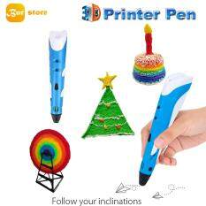 Burstore 3D Printing Drawing Pen Crafting Modeling ABS Filament Arts Printer Tool Gift
