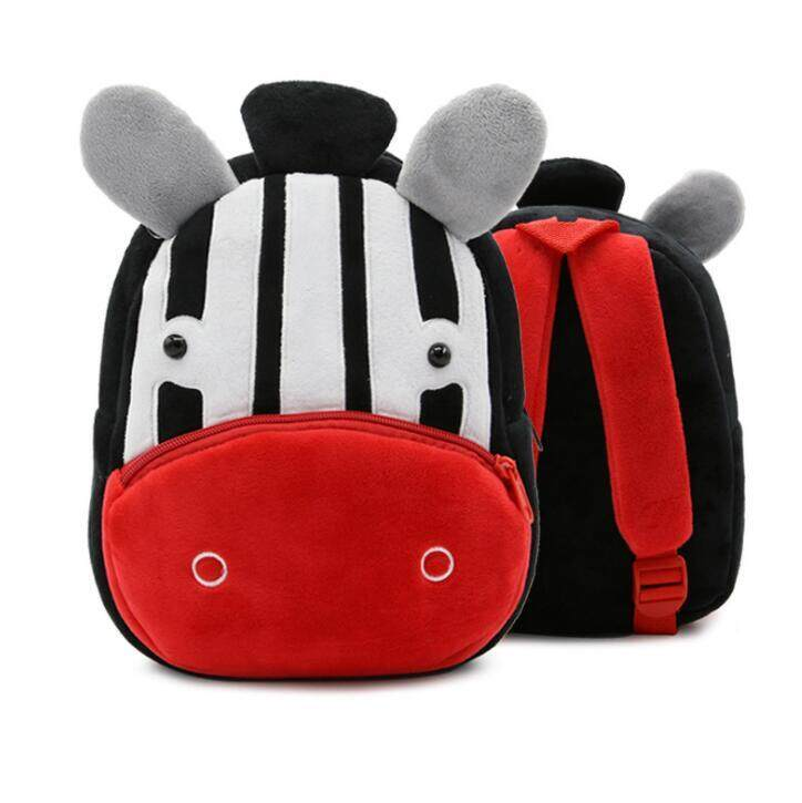 Cute plush animal children's school bags backpack(suitable for 2-4 years .