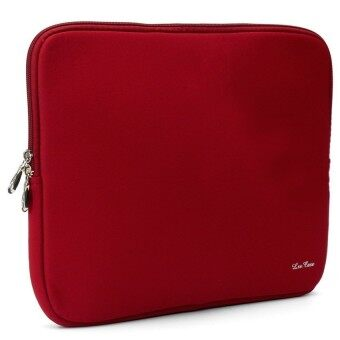 Yushong Laptop Soft Case Bag Cover Sleeve Pouch For Apple 14'' For MacBook Pro/Air Notebook Red