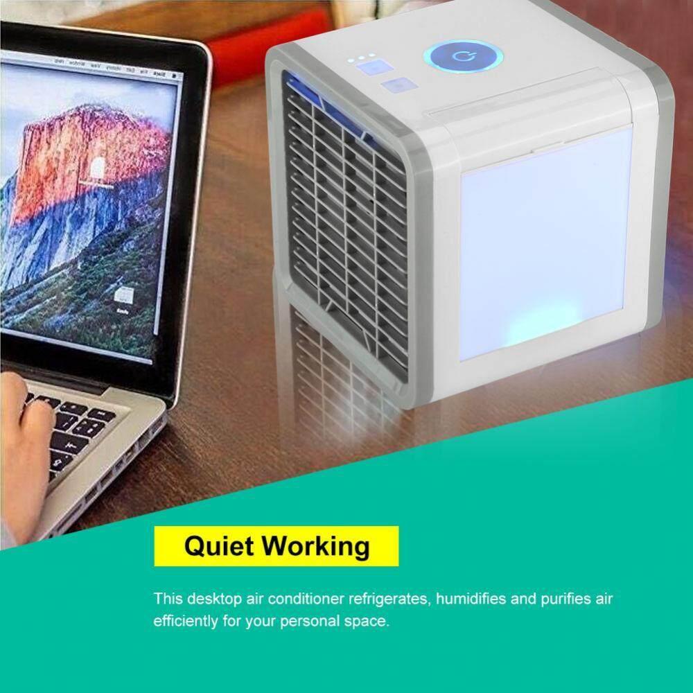 ที่ไหนขายถูก ๆ Save Power Desktop Air Conditioner Refrigeration Humidification Air Purification Air Cooler ของแท้