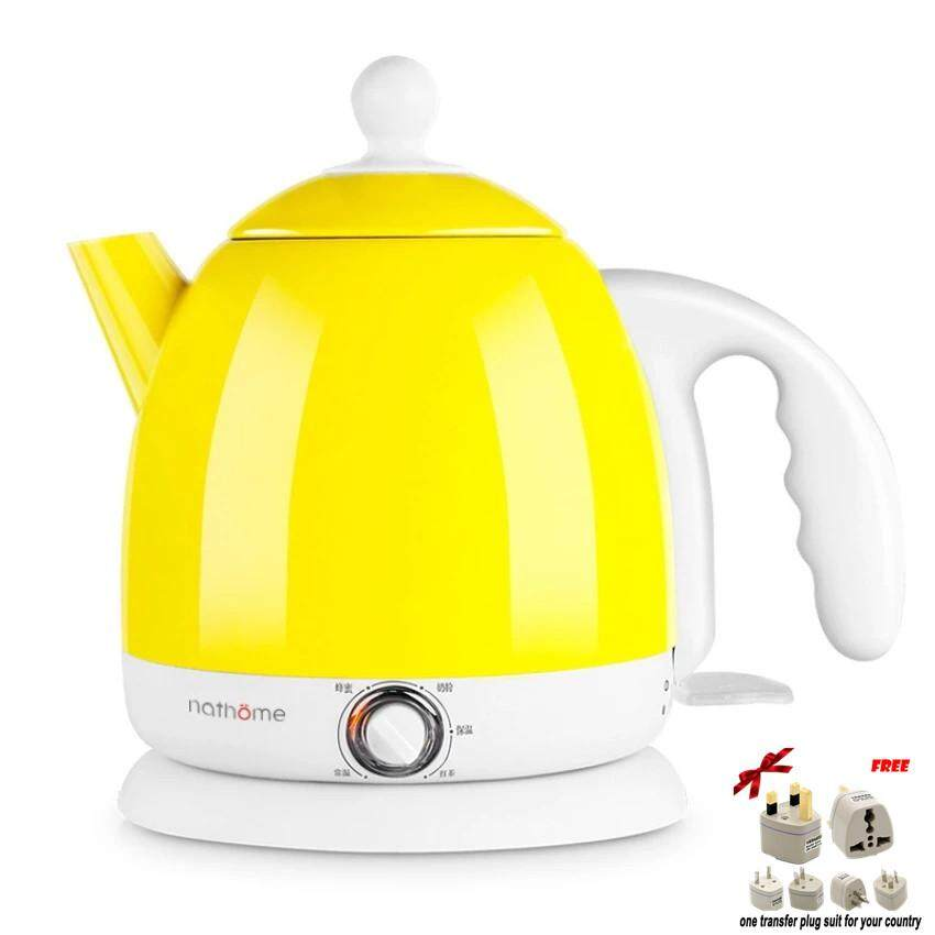LAHOME Nathome NSH0801 Mini Stainless Steel Thermostat Electric Kettle Electric Kettle
