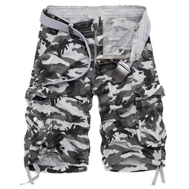 f7cb2cbc5886c Product details of PL Men Fashionable Camouflage Short Pants Sports Short  Trousers Beach Shorts Gift