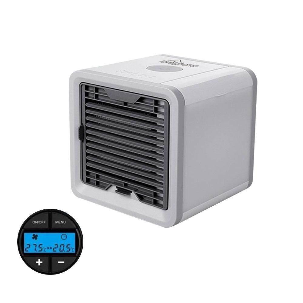 ราคาของ  leegoal Personal Space Air Cooler 5-in-1 Study Sleep Arctic Air Mini Cooler Quick&Easy Way To Cool Any Space Mini Fan Air Cooler Humidifier&Purifier 7 Color Adjustable LED Lights 5 Speeds Home Office Desk Device Portable Air Conditioner LCD Displaies ที่ไหนถูกสุด
