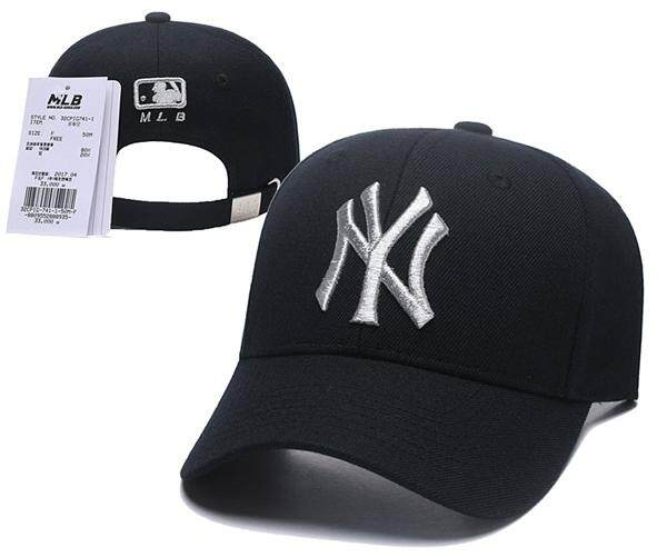90b24ee4eeeb6 New York Yankees Black MLB Baseball Caps Cap Hip-hop Outdoor Men's Sunshade  Original Dance hat