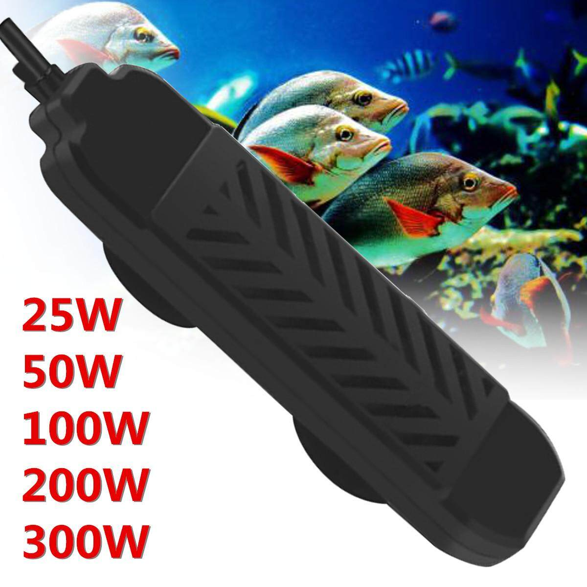 Aquarium Submersible Fish Tank Adjustable Water Heater Rod Temperature control equipment # 200W