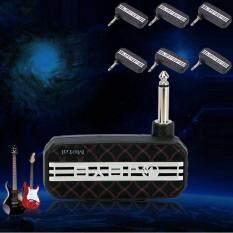 Đá Đàn Guitar Điện Mini Bỏ Túi Amp Khuếch Đại MP3 Đầu Vào Tai Nghe (Ống Ổ Đĩa)-quốc tế