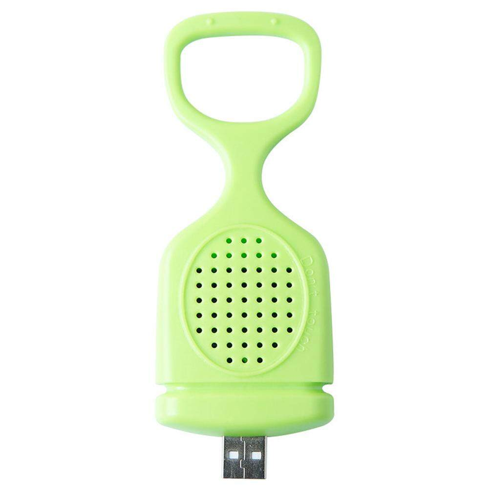 Household Electronic USB Ultrasonic Mosquito Repeller with Mosquito-repellent Incense Tablets Style:Pineapple Yellow