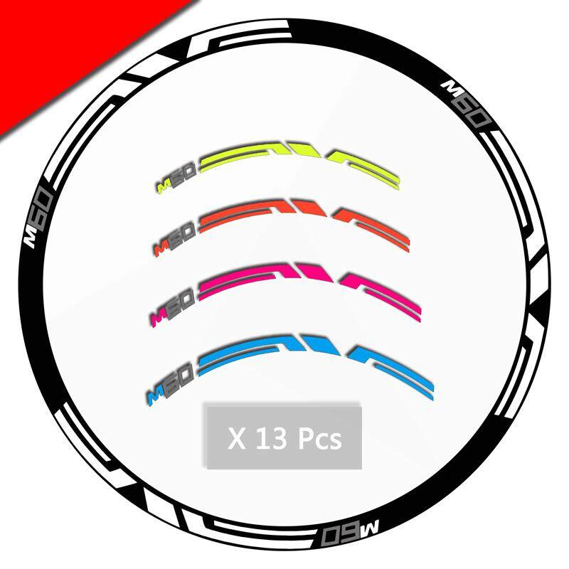 Bicycle accessories Wheel Stickers Reflective KIT ENVE M60 decals For Mountain bike MTB two wheels race cycling