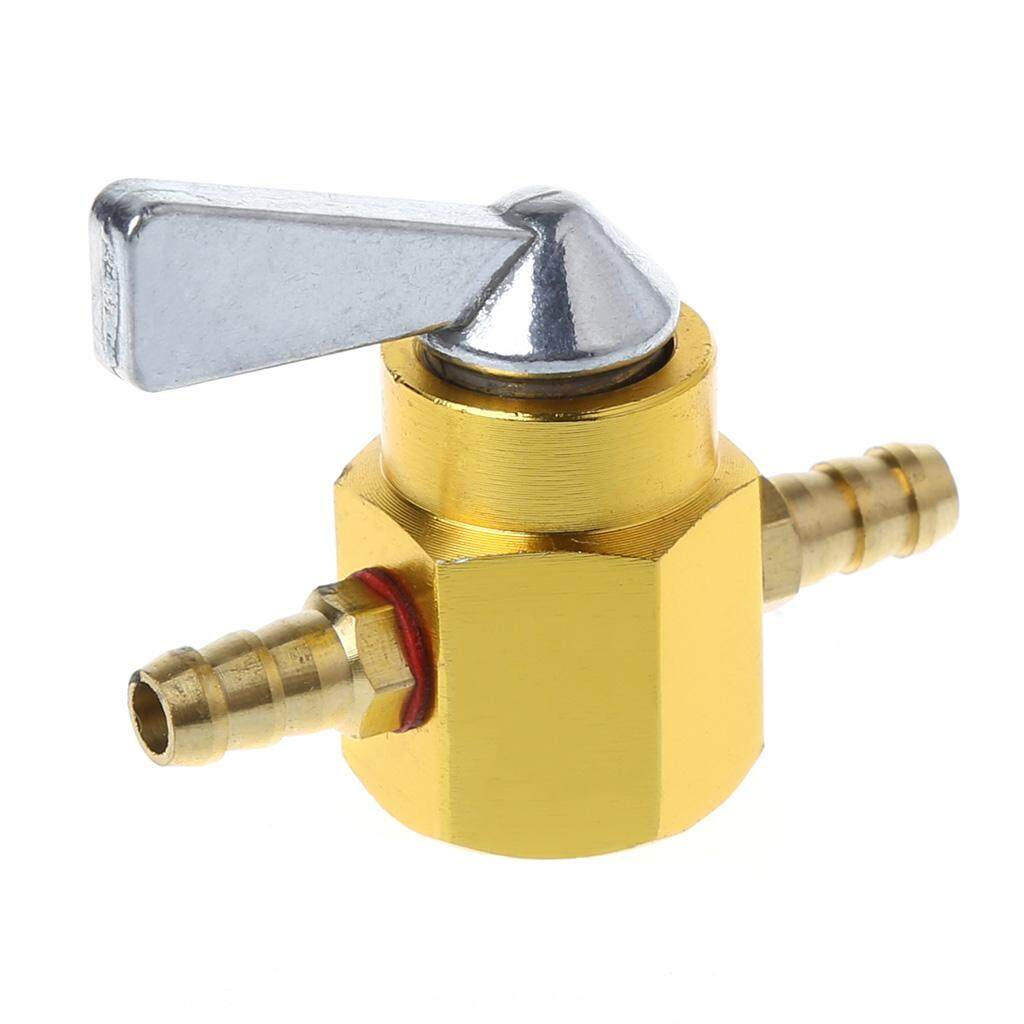 Universal 6mm In-Line Petrol Fuel Tap Motorcycle On-OFF Petcock Fuel Switch