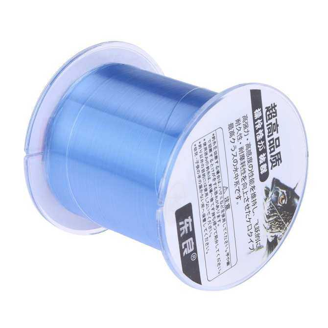 500m Fluorocarbon Resin Nano Strong Leader Line Outdoor Sea Fishing Rope(4.0) - intl
