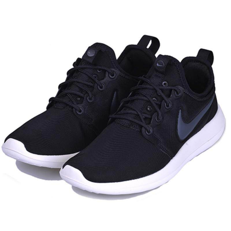 3bf3908ee5fb Nike Roshe Two Men s Women  Fashion Running Shoes Breathable Sports Shoes  (Black White